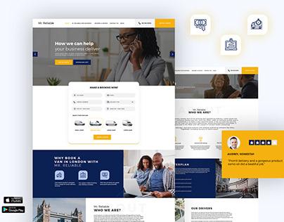 Cab Online Booking Website