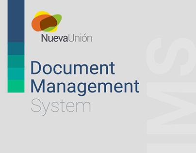 Diseño de Interface IMS para NuevaUnión en Visualmente