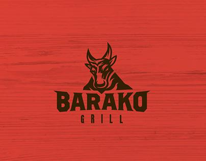 Barako Grill Identity Design