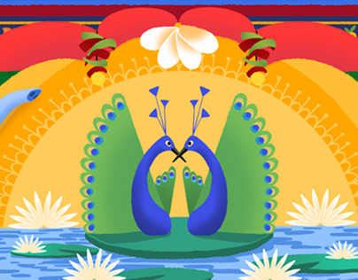 Indian Independence Day - Google Doodle