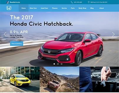 Buerkle Honda Landing Page