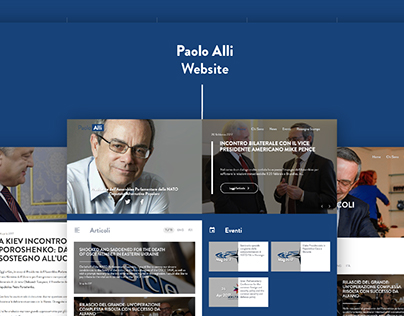 Paolo Alli – Website