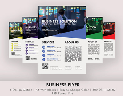 New Business Flyer For Corporate