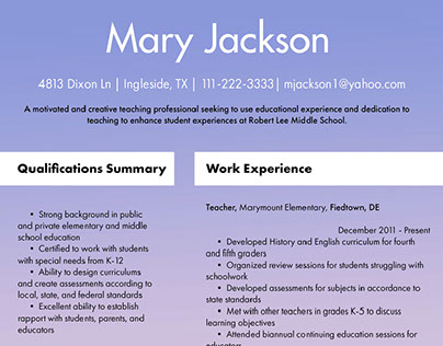 Resume Examples 2018 On Pantone Canvas Gallery
