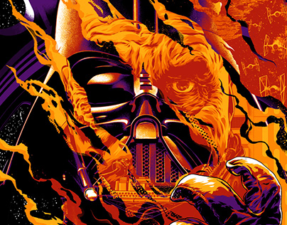 Darth Vader Officially Licensed Screen-Print