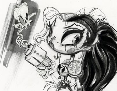 DC COMICS: Harley Quinn Special Guest Story Artist