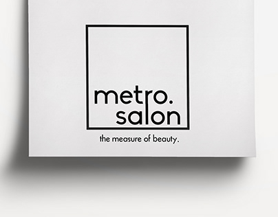 Metro Salon Logo Design