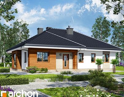 Projekt: Dom w bodziszkach