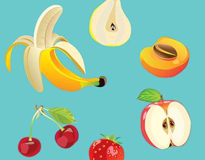 Фруктовый микс / Fruit mix