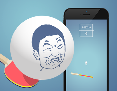 Impossible Ping Pong | One-tap Mobile Game