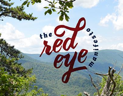 The Red Eye Manifesto - Logo Design