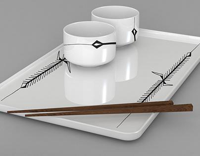 TRIGO- Ceramic
