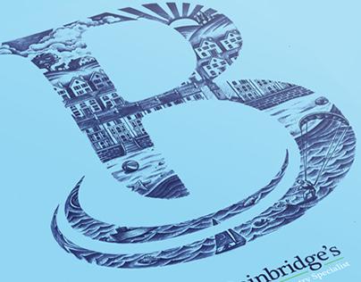 Bainbridge's Estate Agents Branding