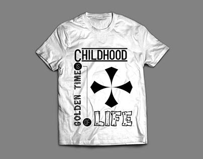 Typography trendy Tshirt Design