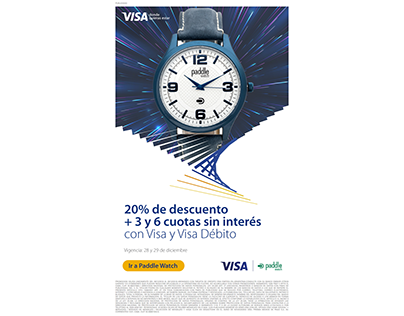 Mailing Paddle / Visa