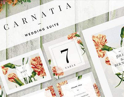 Carnatia -Wedding Suite [Print]