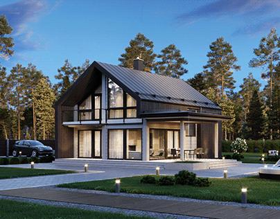 Cottage visualization for HONKA