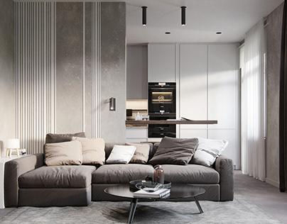 minimalist studio apartments