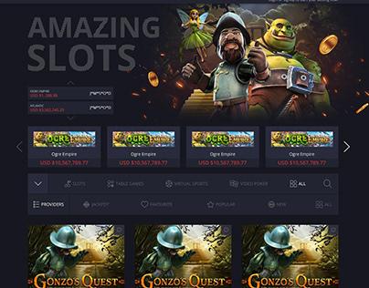 Amazing Slots Gambling / Casino Design