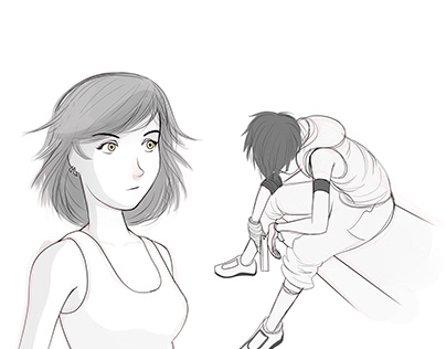 DAILY SKETCHES 26-19-31-33