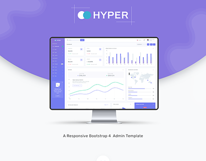 Hyper - Admin Dashboard