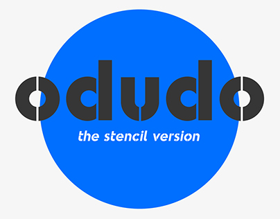 Odudo Stencil - Typeface