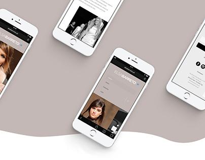 Elsa Barreto - Website
