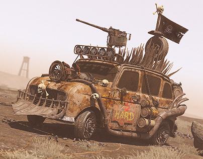 Survival Car - R4