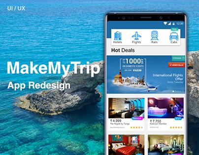 MakeMyTrip - App Redesign