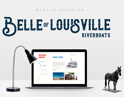 Belle of Loisville Riverboats Website Redesign