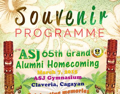 [Layout Design] ASJ Souvenir Programme