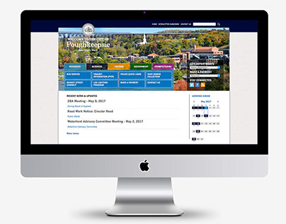 City of Poughkeepsie Website Design