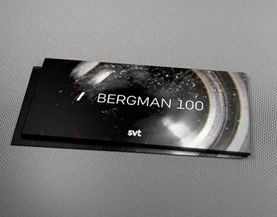Bergman 100 pamplet