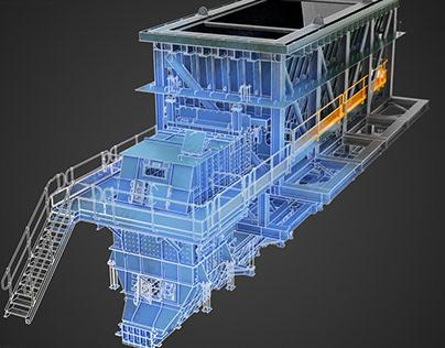 Structural Steel 3D renders