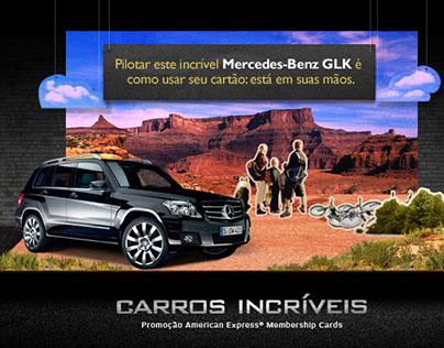 American Express - Promoção Carros Incríveis - Case