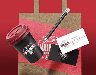 Nairobi Restaurant & Café - Branding