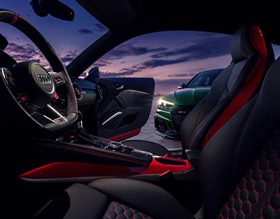 Audi TTRS + RS5 Sportback - Speed Goals