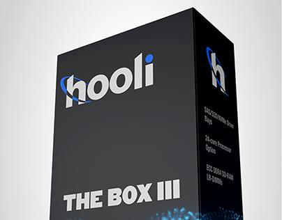 Mockup Hooli Packaging