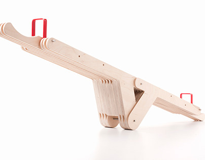 SEESAWSEAT - a seesaw and bench in one