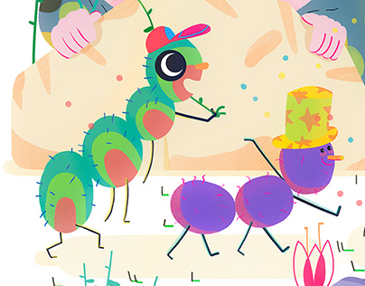 Animals and bugs collection 2018 #picturebooks