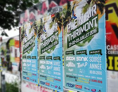 Mega Open Air Thirimont   Affiche