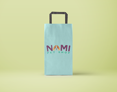 Visual Identity: Nami Pet Shop