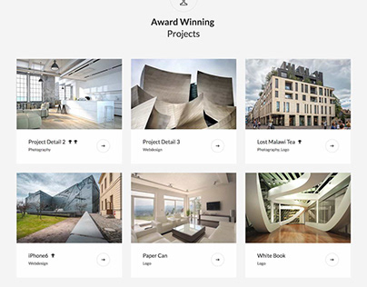 Woodbury Architects - Portfolio Joomla Template