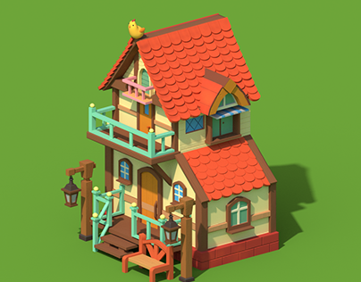 Village House for Game