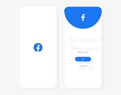 Facebook UI Mobile Redesign