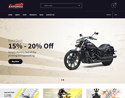 Exporso - Bike/Car/Auto Parts, Accessories Store Shopif