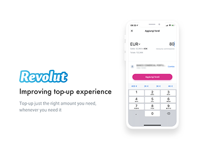 Revolut - Top-up experience