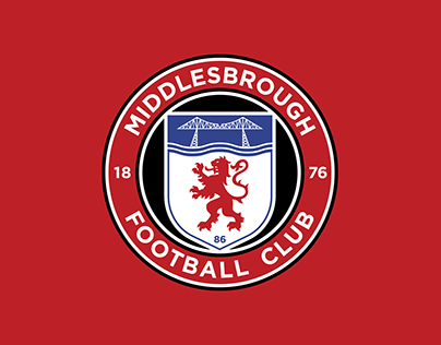 Middlesbrough FC - Crest Redesign Concept 2