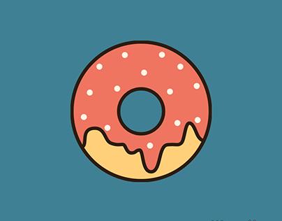 Appetizing Donut