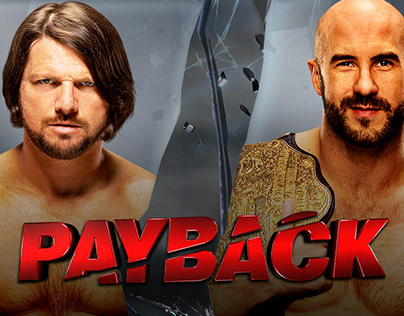 WWE Payback Match Card Set